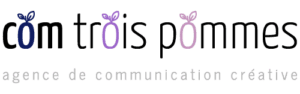 Logo de Com Trois Pommes