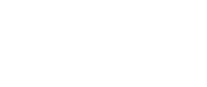 Logo blanc de Com Trois Pommes, agence de communication créative