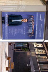 Présentation affiche de campagne Agir Ensemble