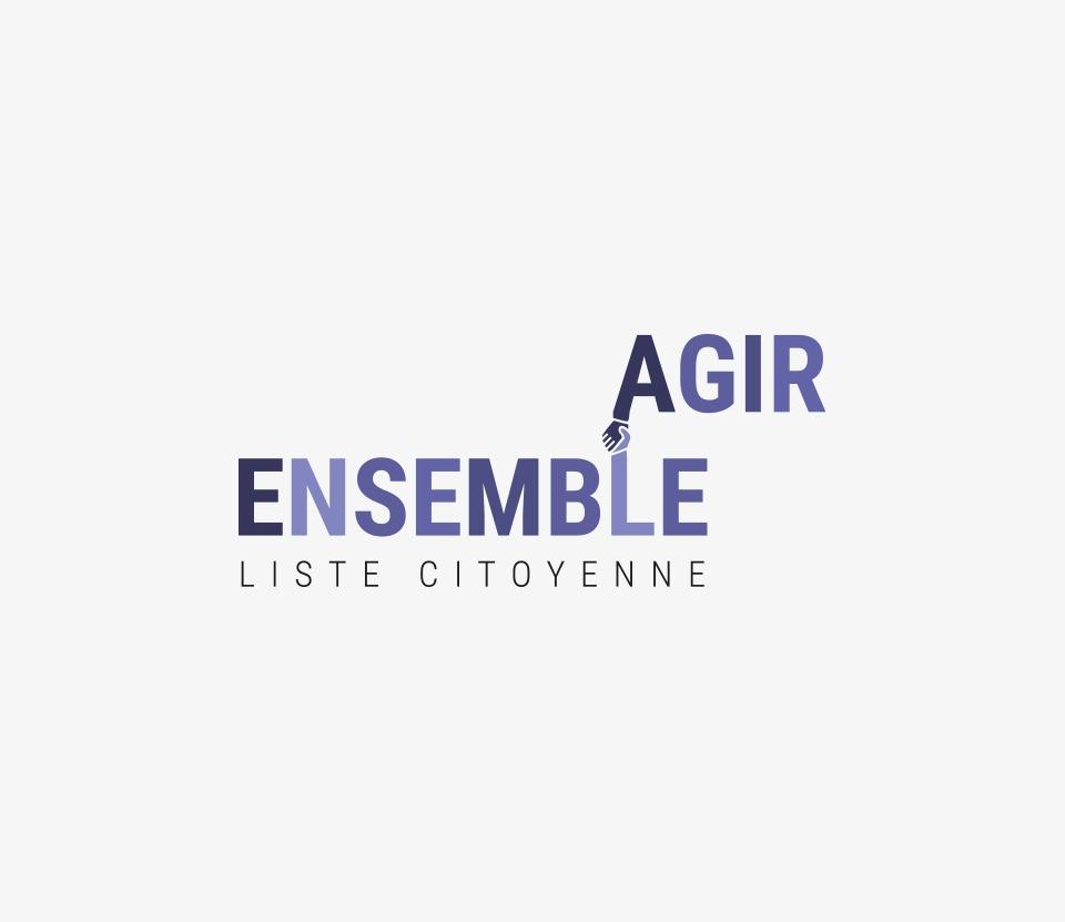 Présentation du logo d'Agir Ensemble