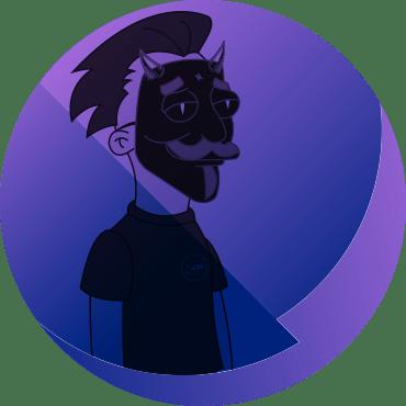 Portrait arrondi de Carlitoz, notre beatmaker