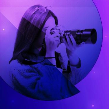Portrait d'Alexandra Freitas, notre designer graphique et web designer